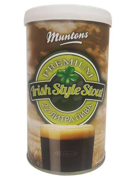 Солодовый экстракт Muntons Irish Stout, 1,5 кг