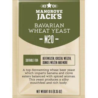 Дрожжи Mangrove Jack's Bavarian Wheat M20, 10 г