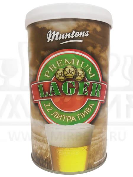 Солодовый экстракт Muntons Lager