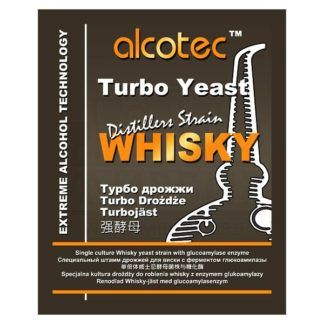 Спиртовые дрожжи Alcotec Whisky Turbo, 73 г