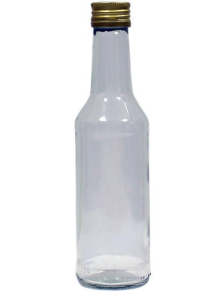 Бутылка стеклянная Чекушка с пробкой, 250 мл