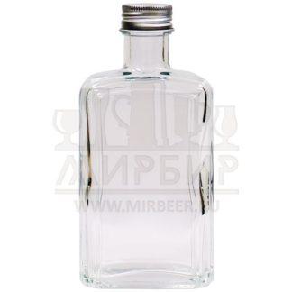 Бутылка стеклянная Флинт 250мл с пробкой