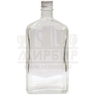 Бутылка стеклянная Флинт 500мл с пробкой