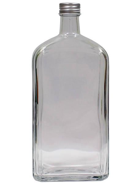 Бутылка стеклянная Флинт с пробкой, 1 л