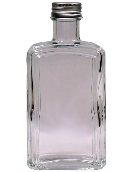 Бутылка стеклянная Флинт с пробкой, 250 мл