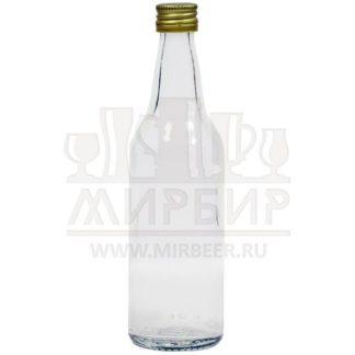 Бутылка стеклянная Мерзавчик 100мл с пробкой
