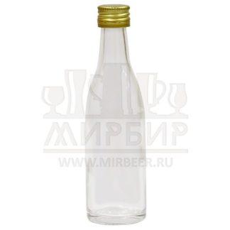 Бутылка стеклянная Миньон 50мл с пробкой