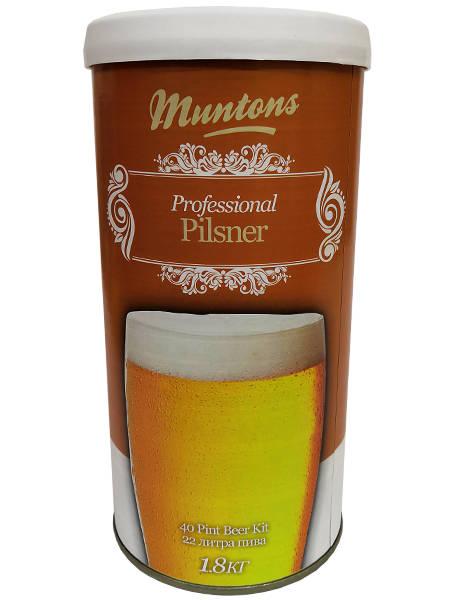 Солодовый экстракт Muntons Pilsner, 1,8 кг