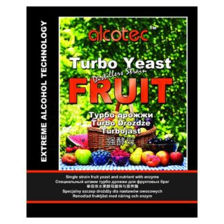 Спиртовые дрожжи Alcotec Fruit Turbo, 60 г