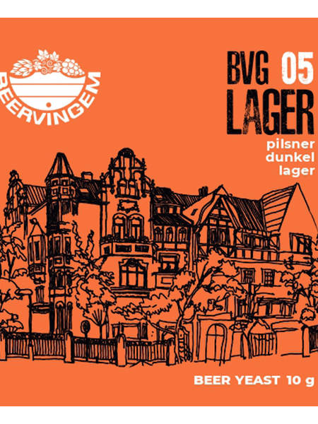 Дрожжи Beervingem для светлого пива Lager BVG-05