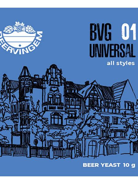 Дрожжи Beervingem пивные универсальные Universal BVG-01