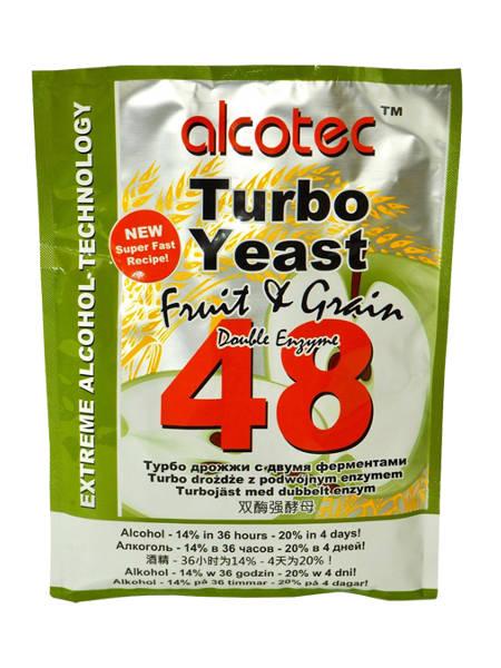 "Спиртовые дрожжи Alcotec ""Fruit & Grain 48 Turbo"""