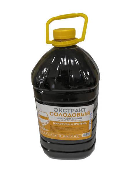 Жидкий неохмеленный солодовый экстракт Кукуруза и карамельный солод
